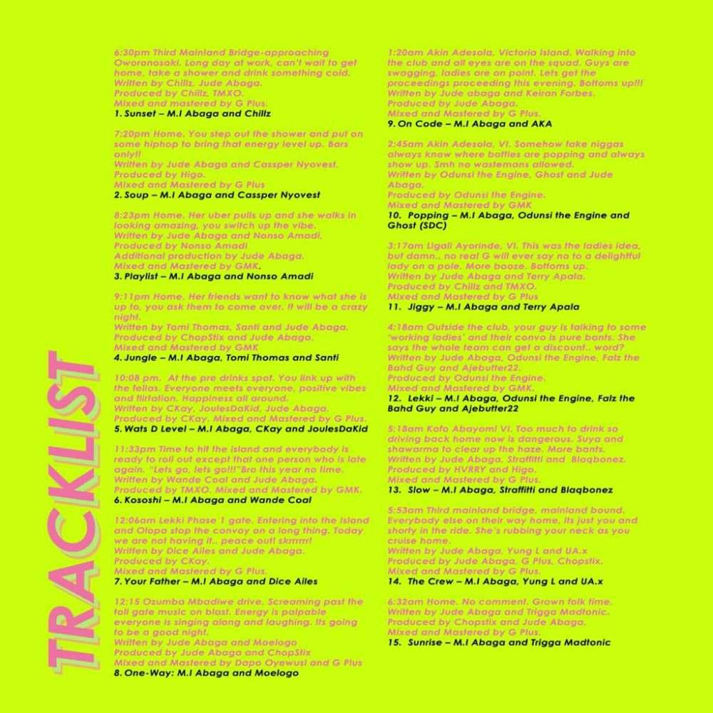 Rendezvous Tracklist