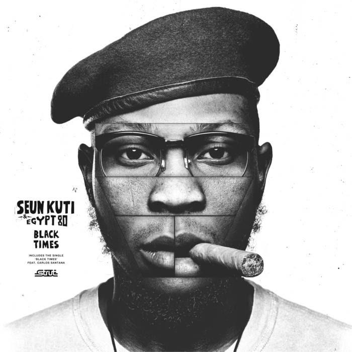 Seun Kuti Black Times (Front)