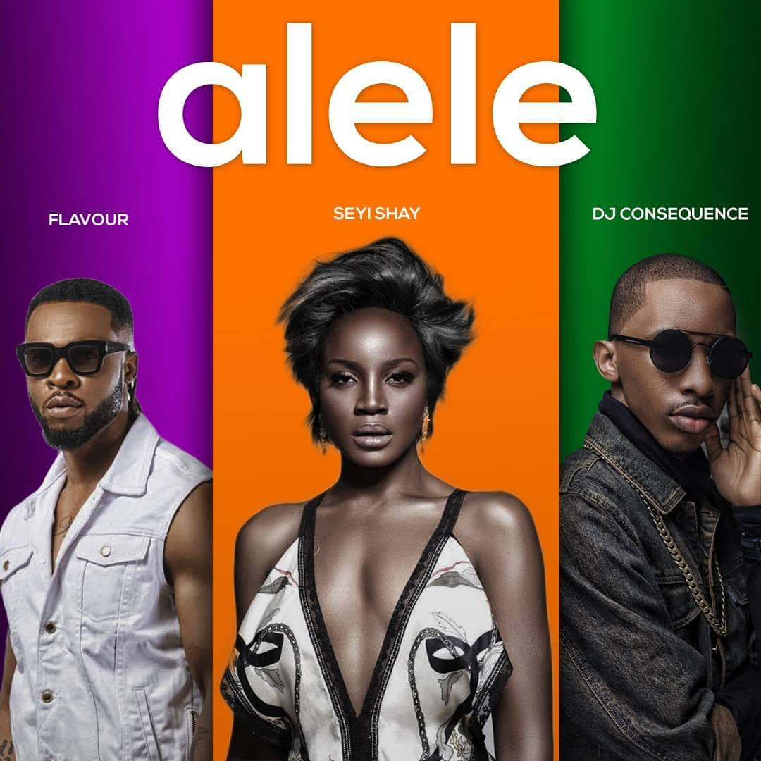 """AUDIO: Seyi Shay ft  Flavour & DJ Consequence – """"Alele"""