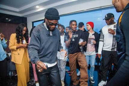 Burna Boy Album listening party6