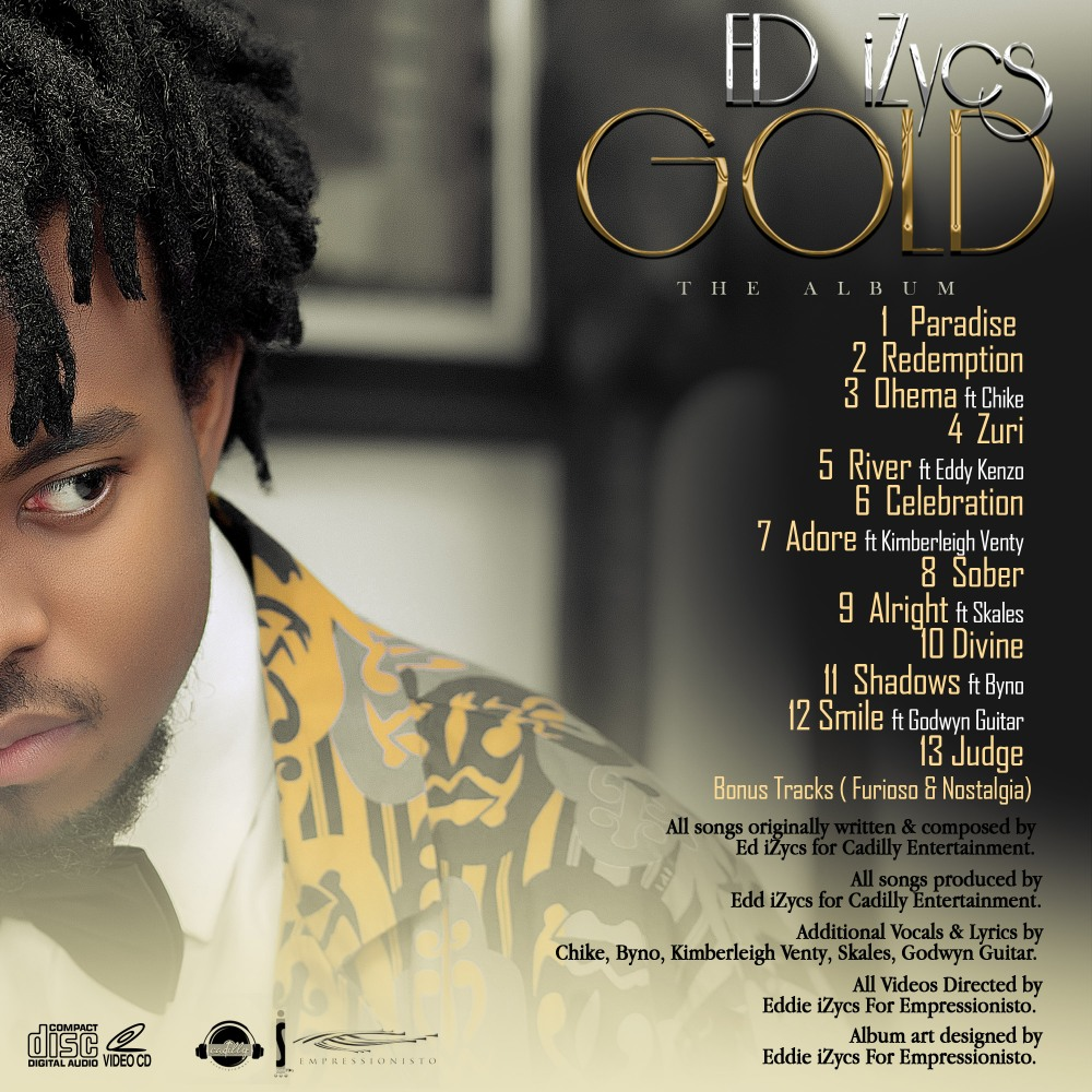 Gold The Album Tracklist