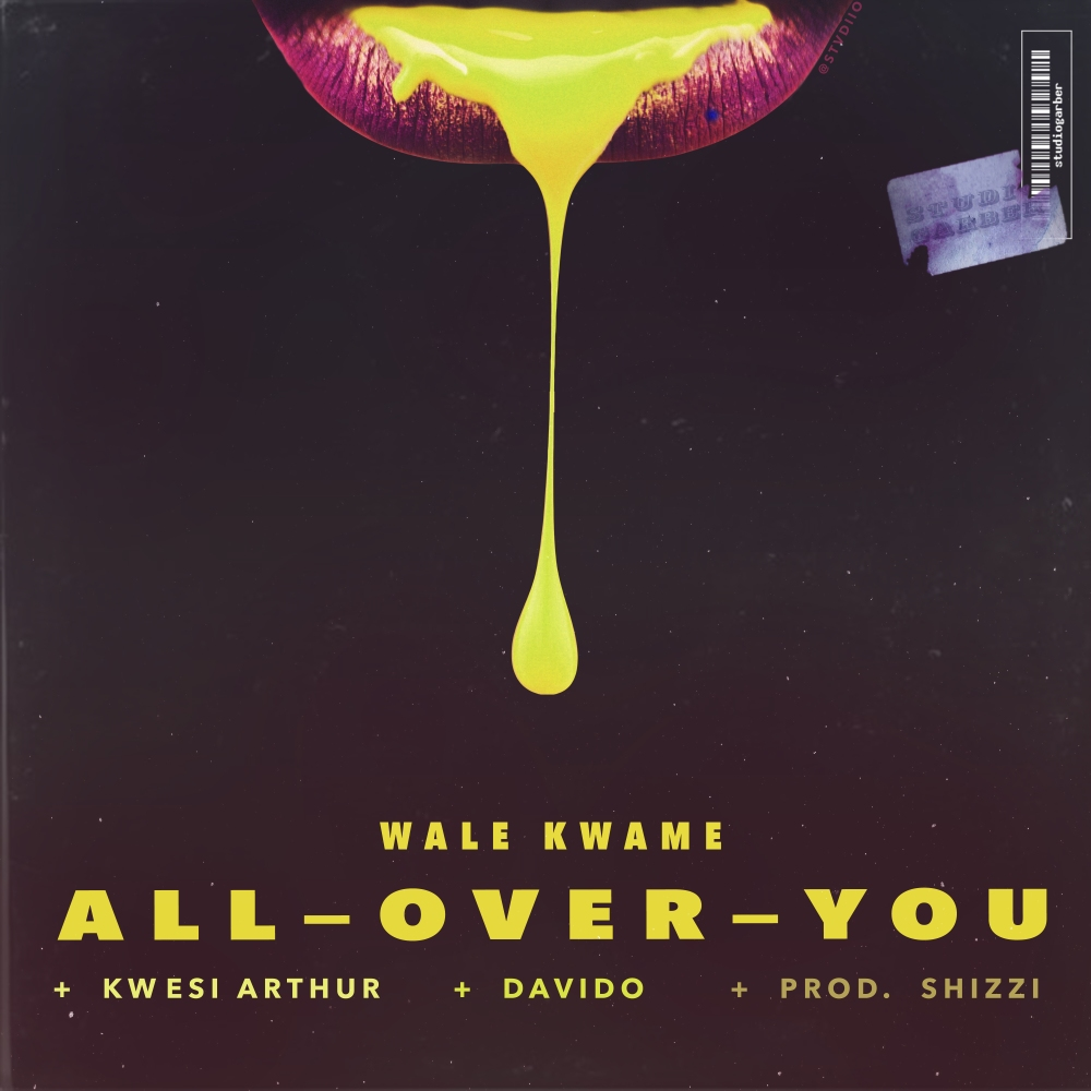All Over You Cover Design