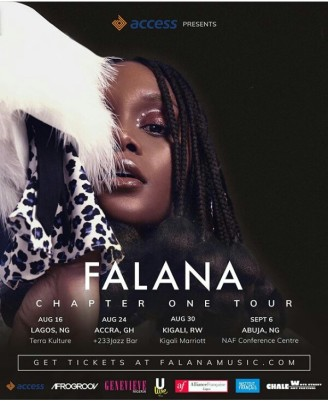 Falana Chapter One Tour