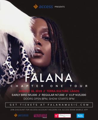 Falana Chapter One Tour1