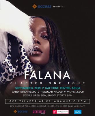 Falana Chapter One Tour2