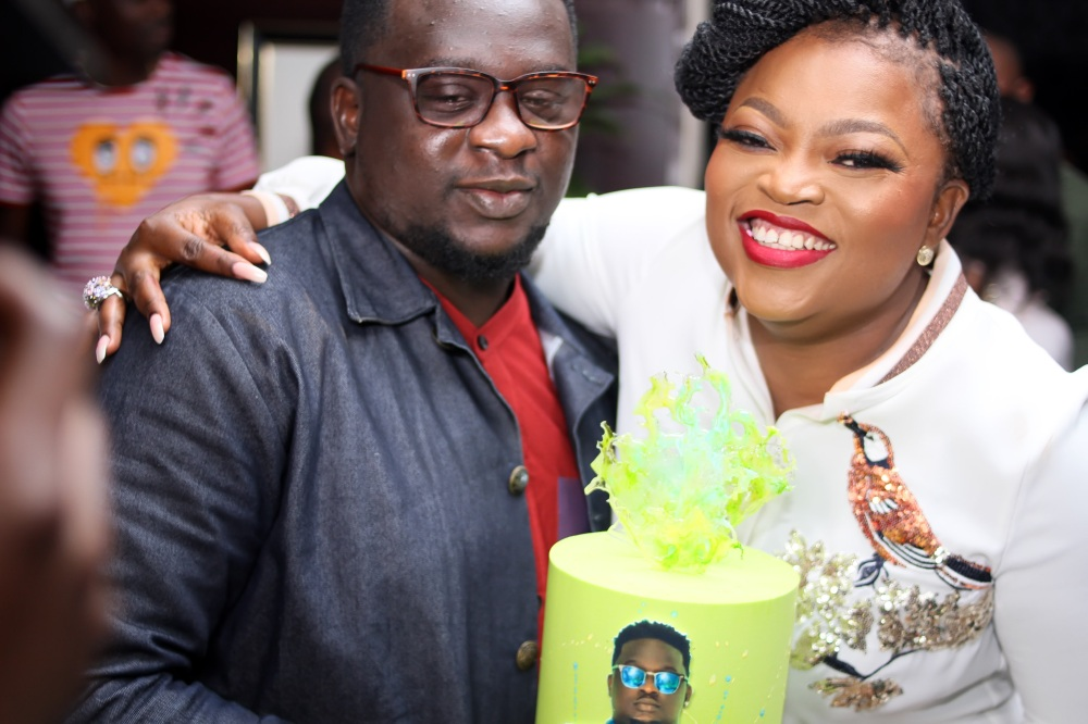 Wande Coal birthday party