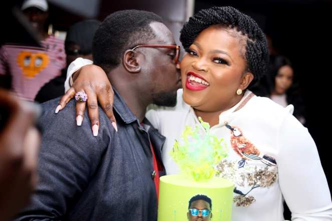 Wande Coal birthday party3