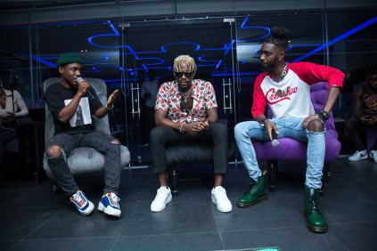 Sheye Banks, Ycee & Manolo Spanky (Photo credit: Haastrup Event Photography)