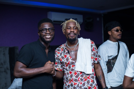 Craze clown & Ycee (Photo credit: Haastrup Event Photography)