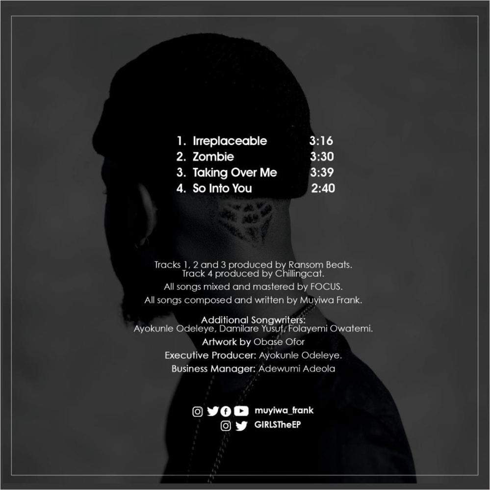 G.I.R.L.S Tracklist