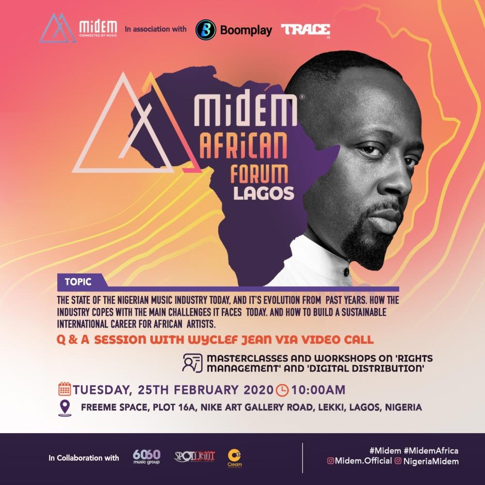 Midem African tour