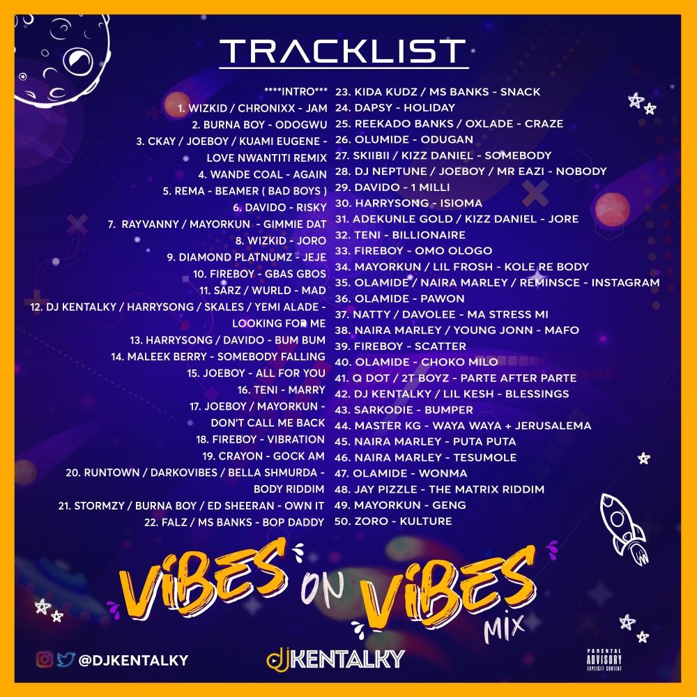 Tracklist VOV