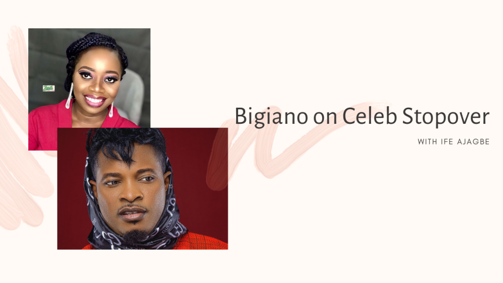 Bigiano on Celeb Stopover YouTube