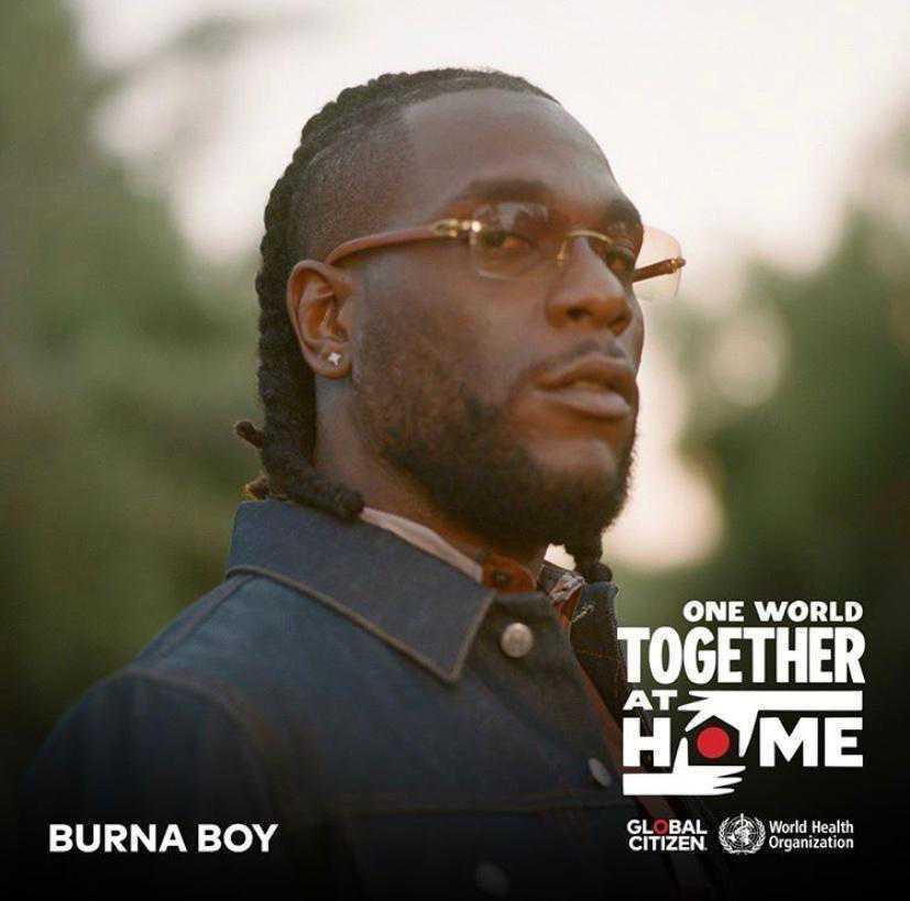 Burna Boy Global Citizen concert