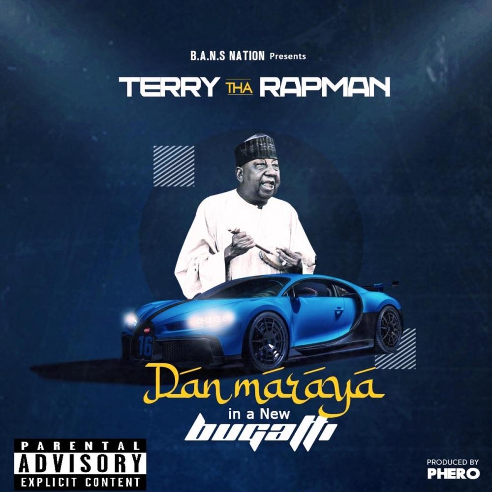 Dan Maraya in a New Bugatti