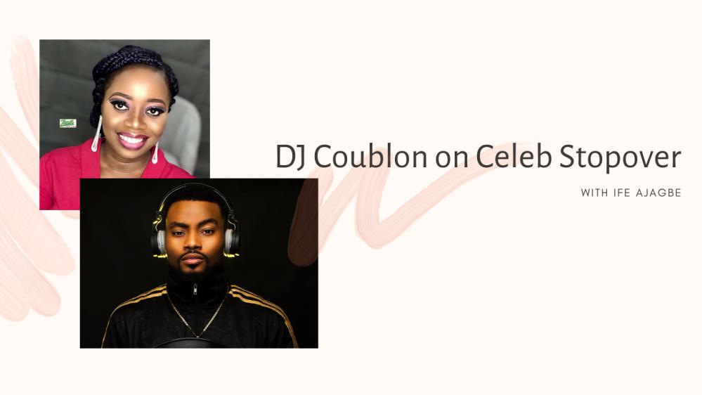 DJ Coublon on Celeb Stopover YouTube