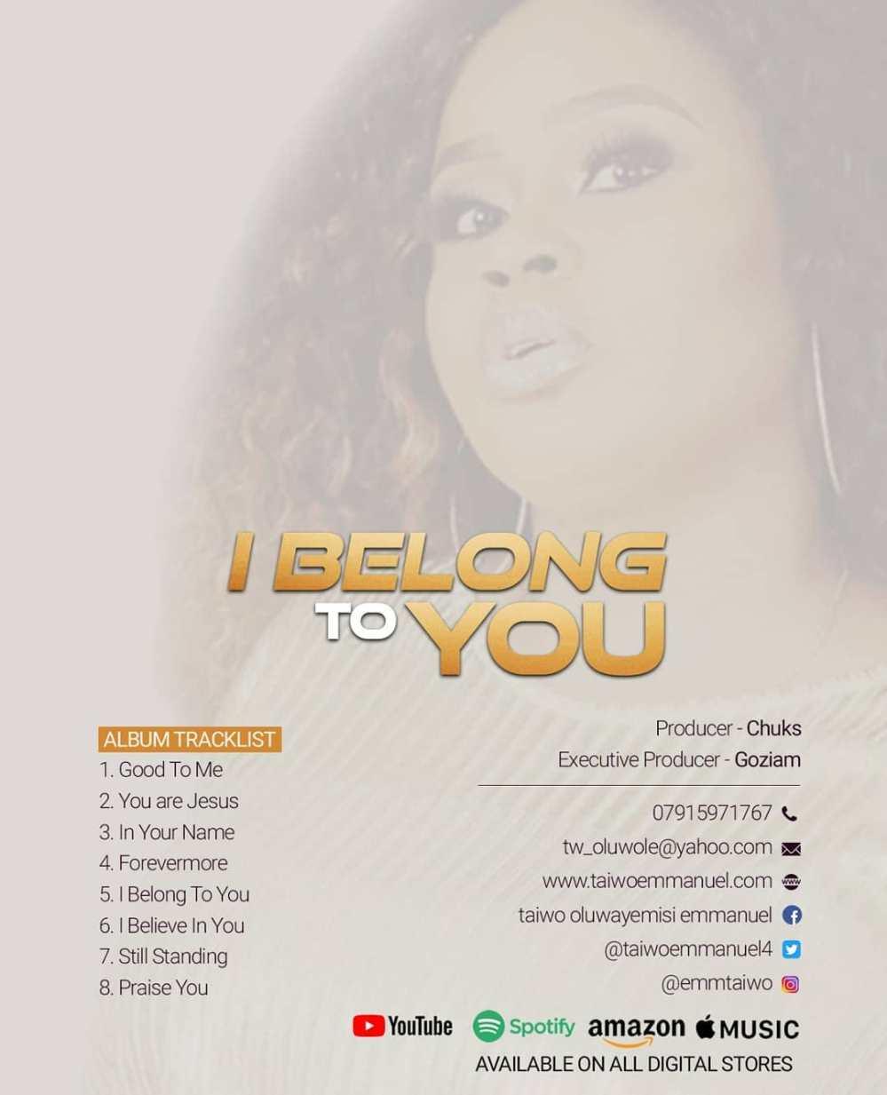 I Belong To You tracklist