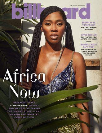 Tiwa Savage Billboard Cover