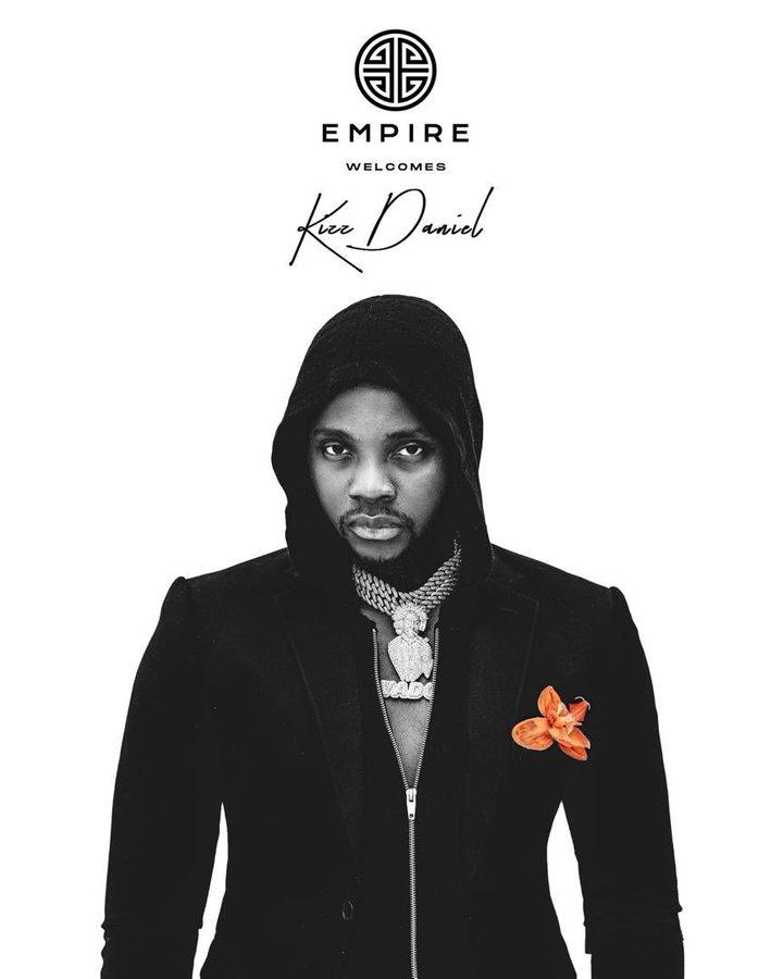 Kizz Danie Empire deal