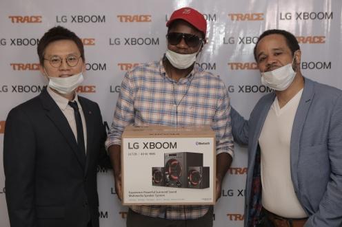 Trace LG Electronics partnership9