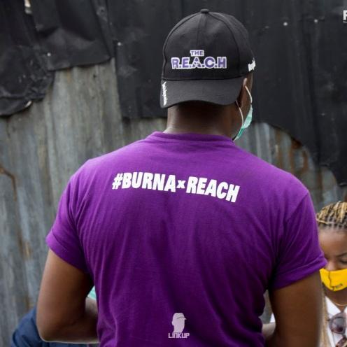 Burna Boy REACH NG outreach11