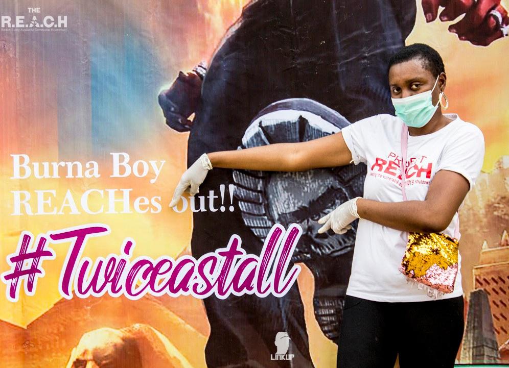 Burna Boy REACH NG outreach9