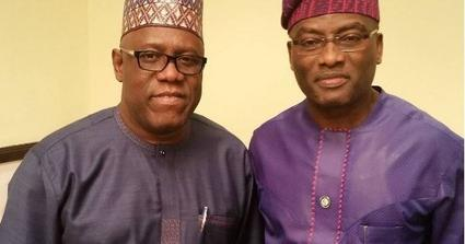 Kenny Ogungbe and Dayo Adeneye
