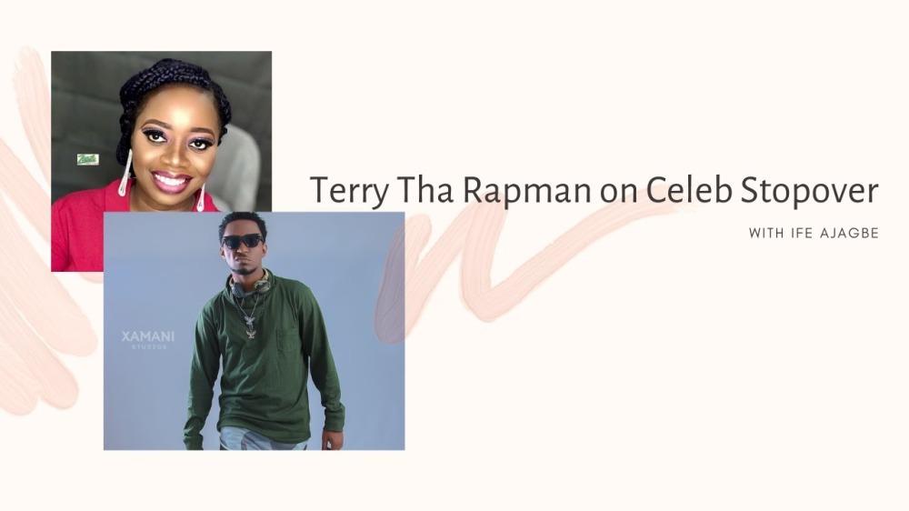 Terry Tha Rapman on Celeb Stopover