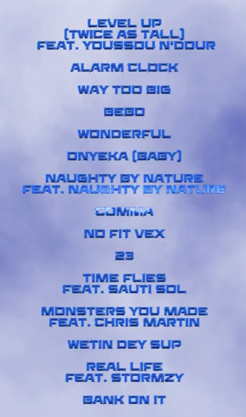 Twice As Tall Tracklist