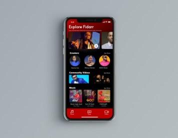 Fidarr App UI