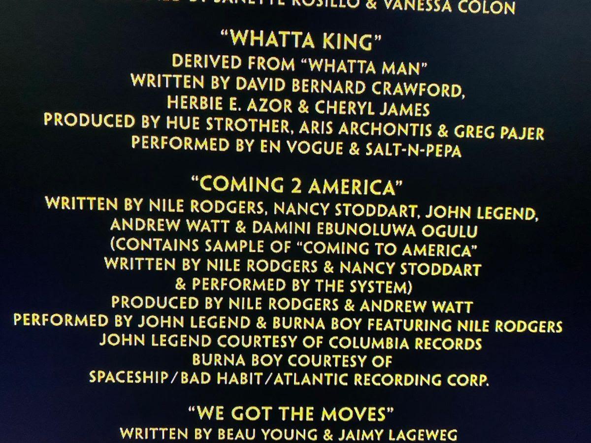 Coming 2 America: Burna Boy links up with John Legend and Nile Rodgers on  movie soundtrack – Naija Music Hub