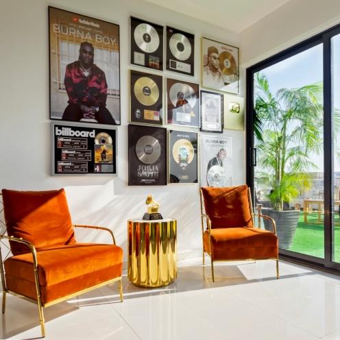 Burna Boy Architectural Digest feature 6